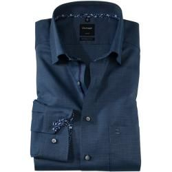 Photo of Olymp Luxor shirt, modern fit, extra long arm, navy, 39 Olymp