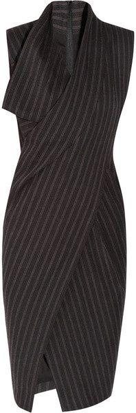 Donna Karan New York Origami WoolBlend Dress.