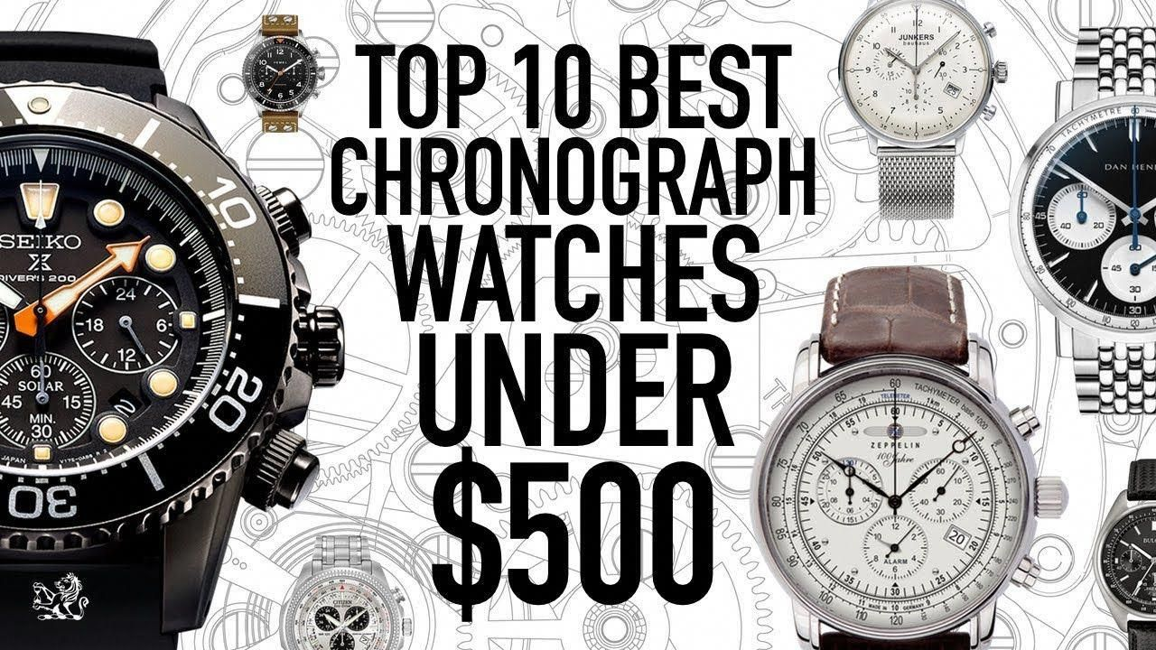 a78b48267 Top 10 Best Value Chronograph Watches Under $500 - Seiko, Citizen, Bulova,  Dan Henry, UNDONE & More - YouTube #bestwatchesunder500