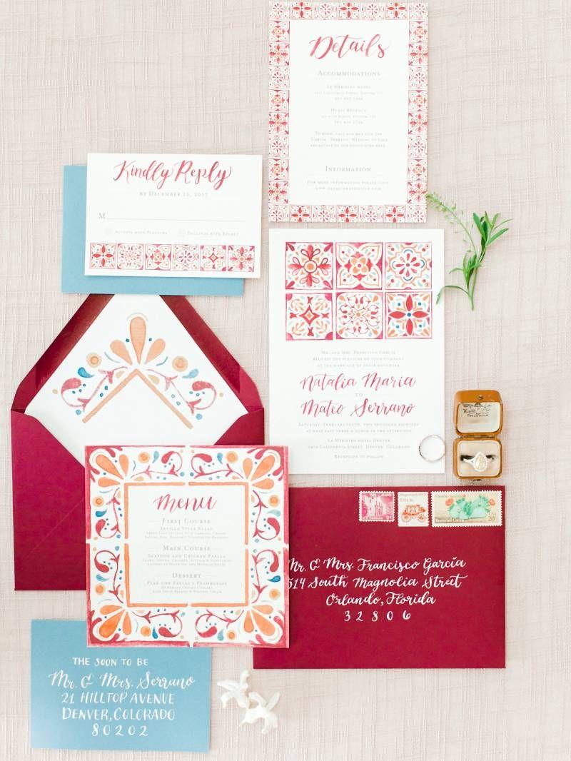 Spanish Wedding Inspiration Red Wedding Ideas In 2019 Spanish