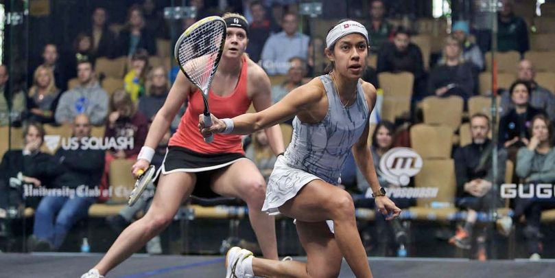 WindyCity Update: Ruthless Nicol David Storms Through - Professional Squash Association