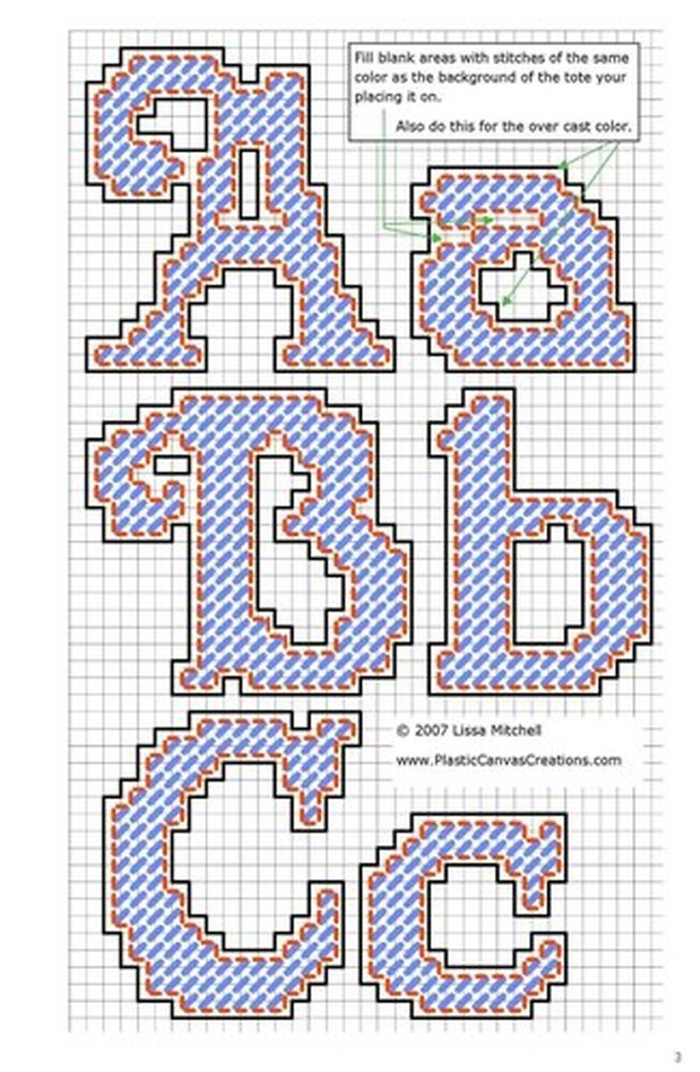Cursiva 1 Plastic Canvas Letters Plastic Canvas Stitches Plastic Canvas Patterns