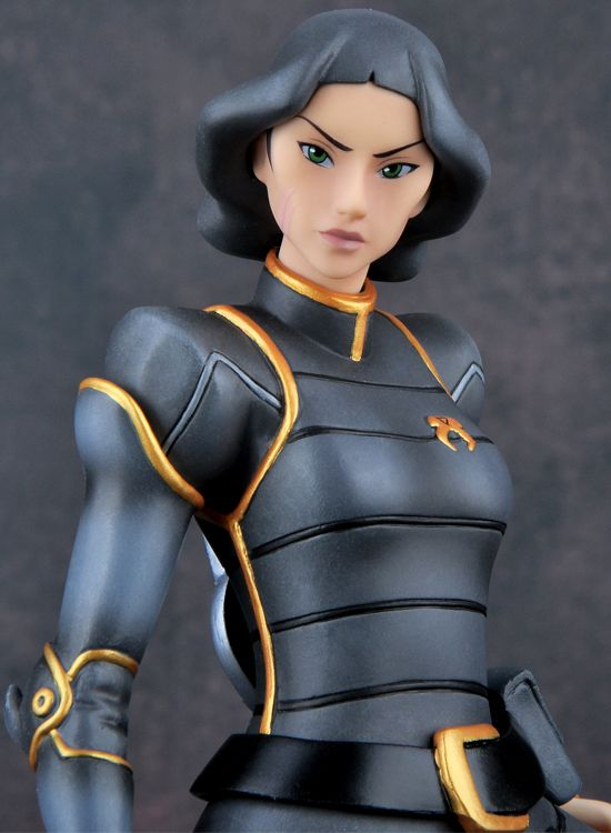 Legend Of Korra Toys : The legend of korra chief lin beifong pre painted pvc