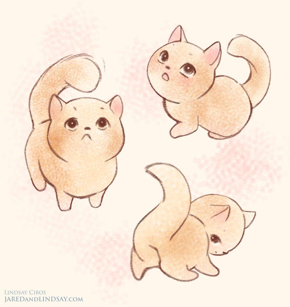 Cute Fox Drawing Google Search Art In 2019 Chibi Cat Cute Cat