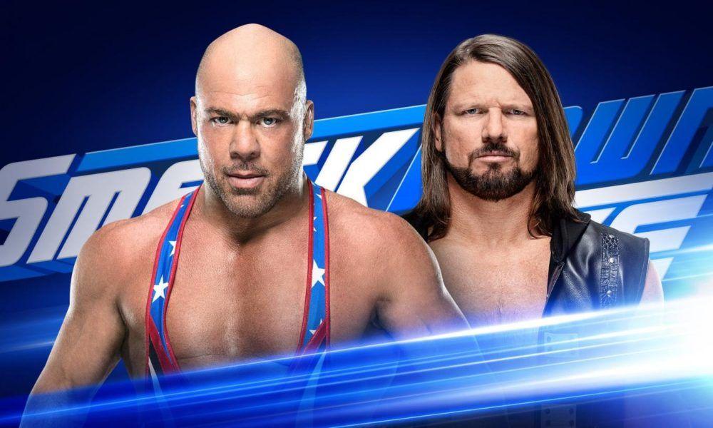 Kurt Angle To Wrestle Aj Styles On Wwe Smackdown Live Kurt Angle Aj Styles Wrestling News