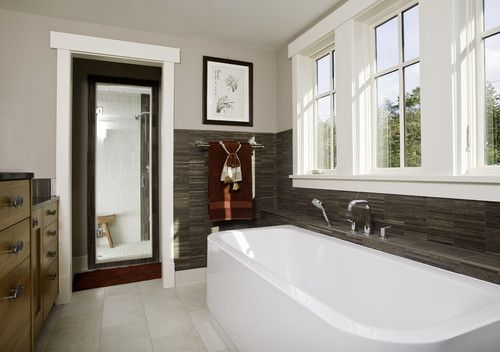 Contemporary Bathroom Rustic Design, Pictures, Remodel, Decor and