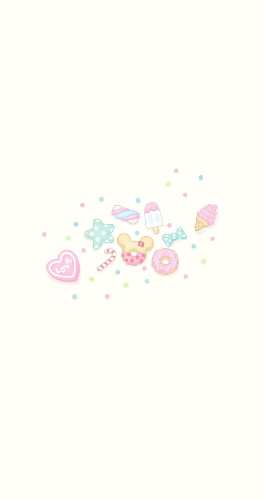 Sweets Wall Sanrio Wallpaper Cute Baby Wallpaper Cupcakes