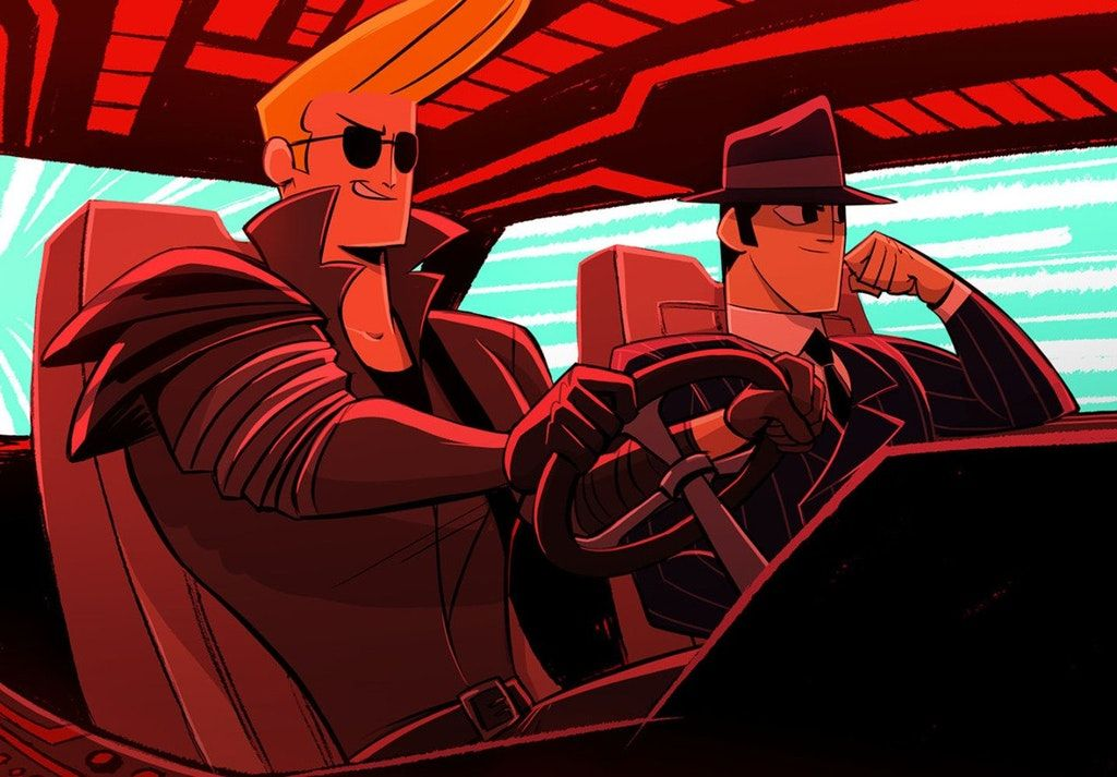 A Samurai Jack Johnny Bravo Crossover As Imagined In This Fanart Would Be Perfect For This Sub Outrun Samurai Jack Johnny Bravo Samurai Bravo