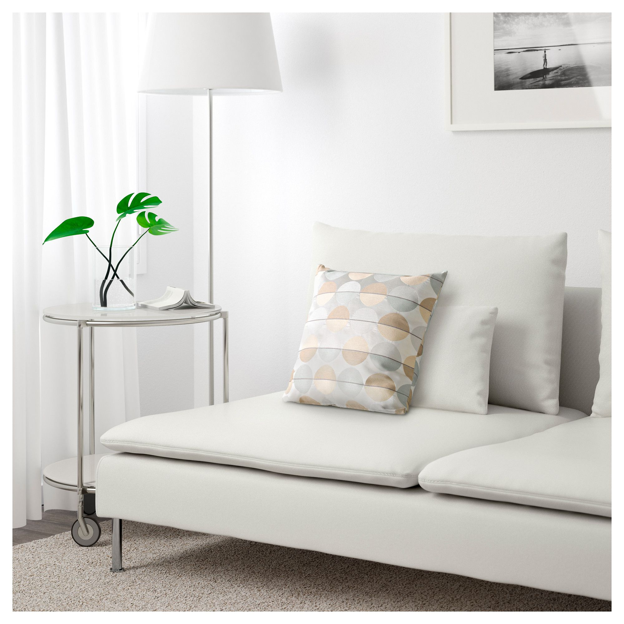 IKEA SÖDERHAMN Sofa section Finnsta white in 2019