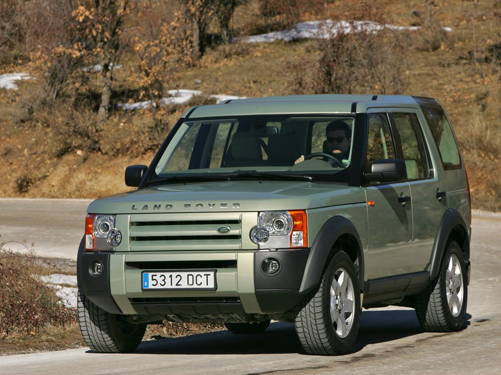 2004 Land Rover Discovery Характеристики изображения