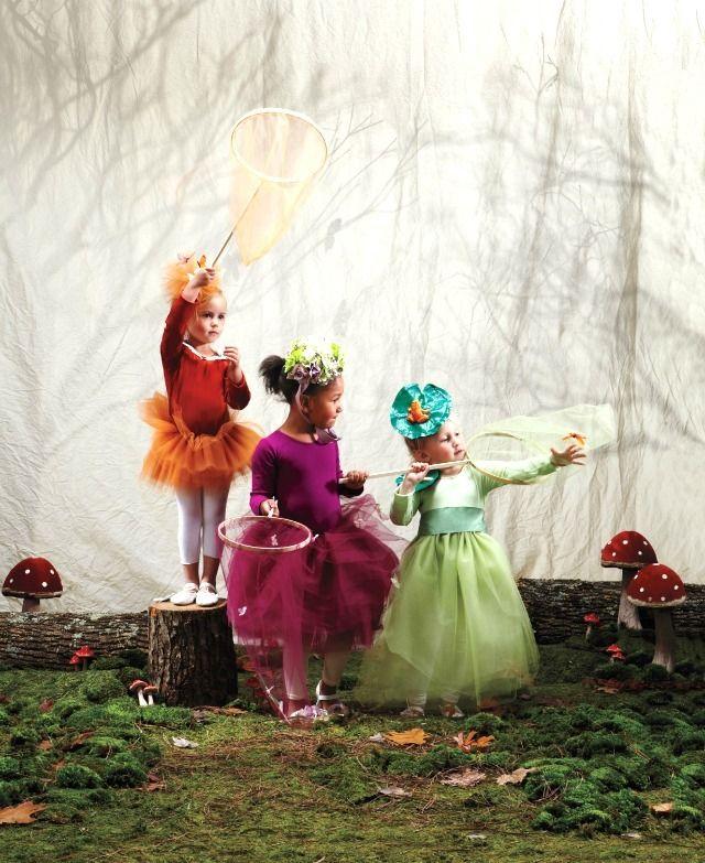 DIY Woodland Sprite / Fairy Costumes \u2013 Martha Stewart Halloween by - martha stewart halloween ideas