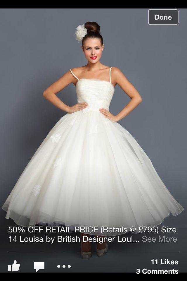 Plain Tea Length Dress