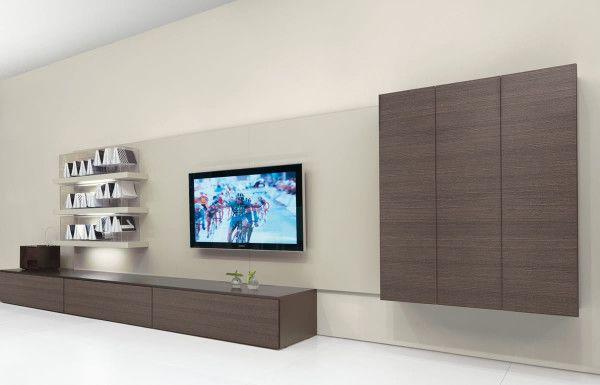Furniture Inspiring Living Room Tv Using Low Profile Media Cabinet Under Gl Table Decoration Also