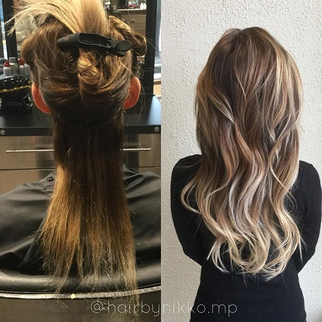 Check Out This Before And After Using Klixhair Sometimes Extensions