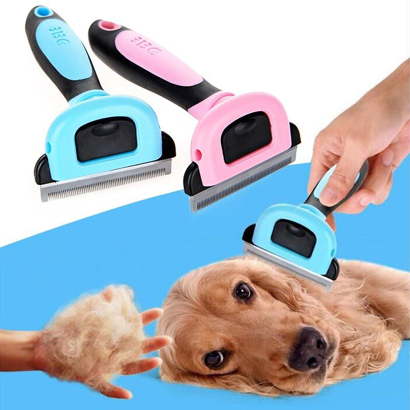 Sale 1PC New Dog/Cat Hair Comb Trimmer 3 Sizes 2 Colors