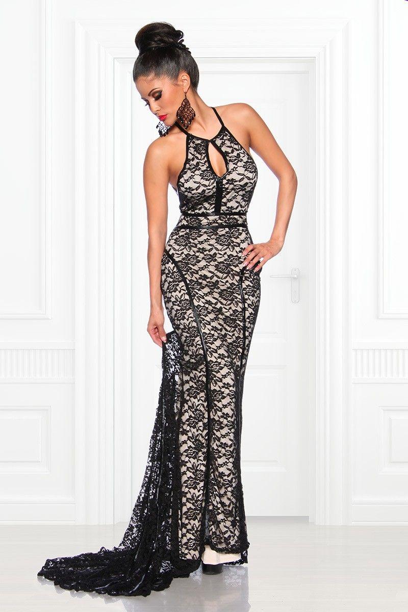 pingl par c line vos sur robes pour le mariage pinterest lace evening dresses dresses et. Black Bedroom Furniture Sets. Home Design Ideas