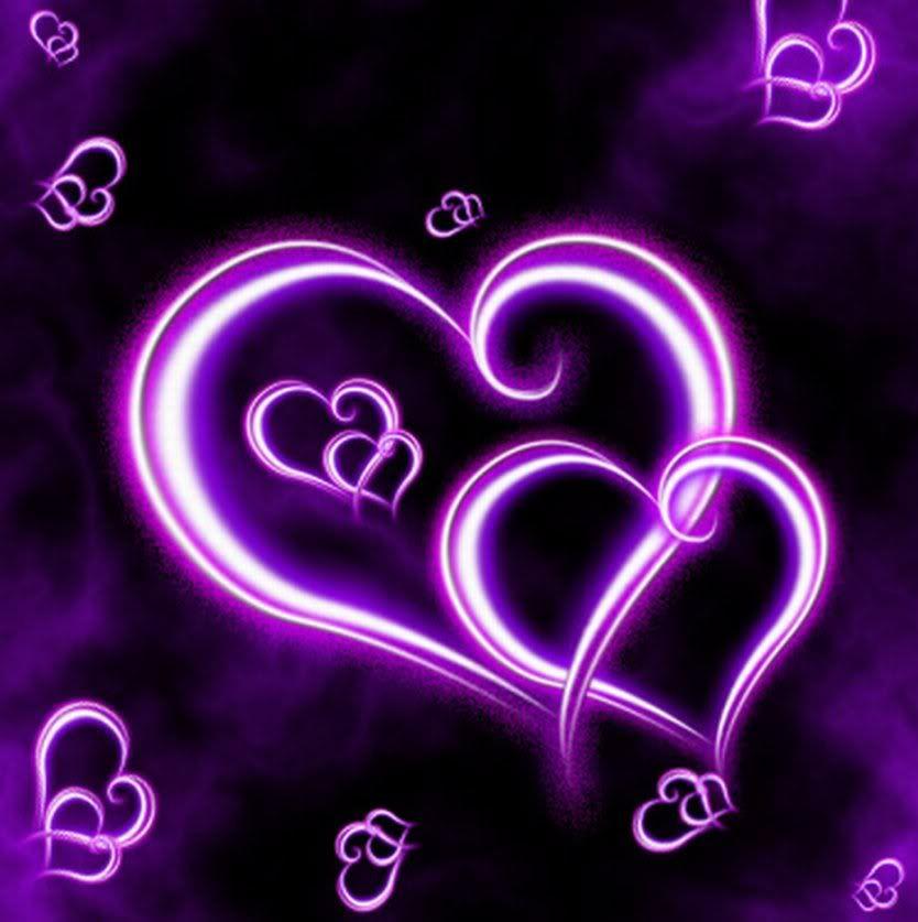 Black And Purple Abstract Wallpaper Full HD Fybak