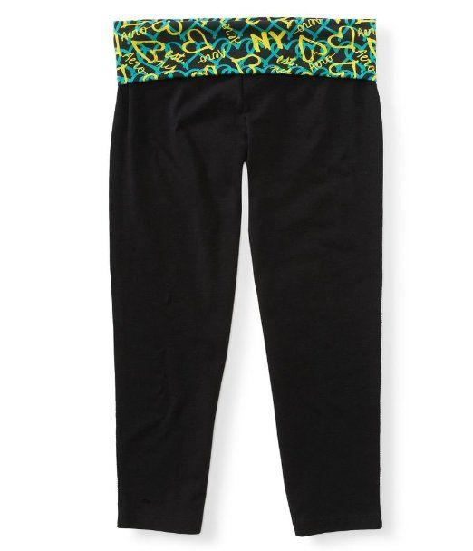 Aeropostale Womens Yoga Cropri Workout Athletic Pants.