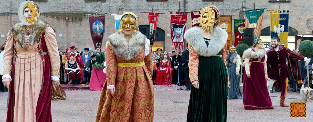 maschere di carnevale a ferrara