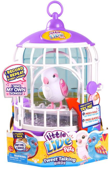 Buy Little Live Pets Bird Series 3 With Cage Bella Rina Online At Toy Universe Little Live Pets Little Girl Toys Baby Girl Toys
