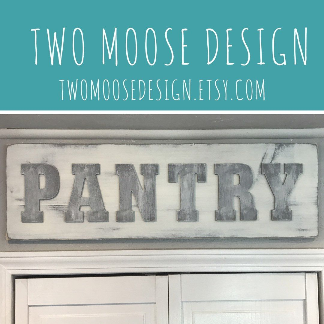 Pantry Sign Design