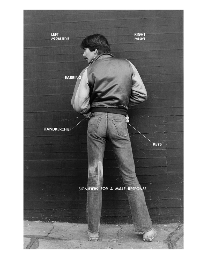 """Gay Semiotics Revisited. For Aperture magazine #218, Spring 2015, """"Queer,"""" Hal Fischer revisited his seminal 1977 photo-text"""
