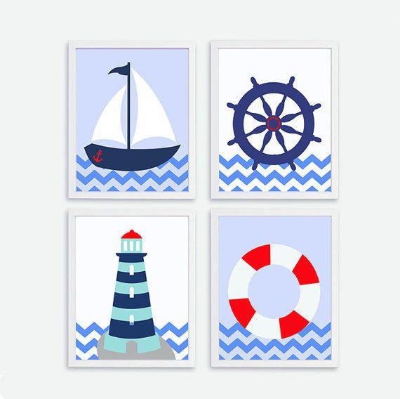 Free Nautical Nursery Printables Google Search