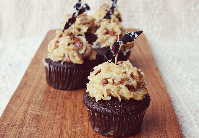 German Chocolate Cake Recipe Desserts Pinterest Coconut