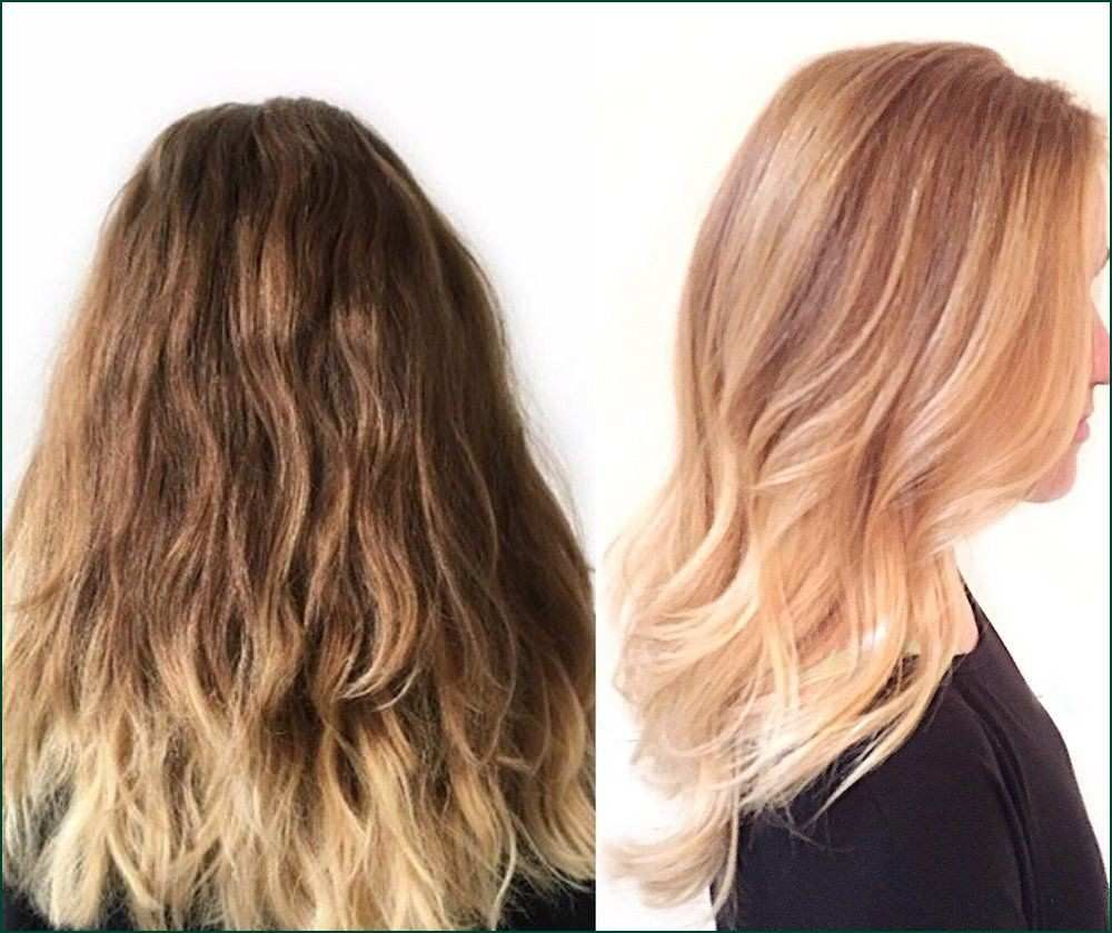 Strawberry Blonde Semi Permanent Hair Dye Creative I97y From Ombre