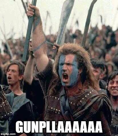 Braveheart Mel Gibson Meme Generator Gunplaaaaaaa That S Right Get Your Gunpla Needs And Anything Gundam From Our Gund Workout Humor Gym Humor Coffee Humor