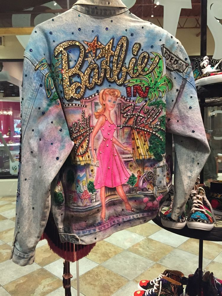 1980 S Rare Tony Alamo Beverly Hills Barbie Jacket ...
