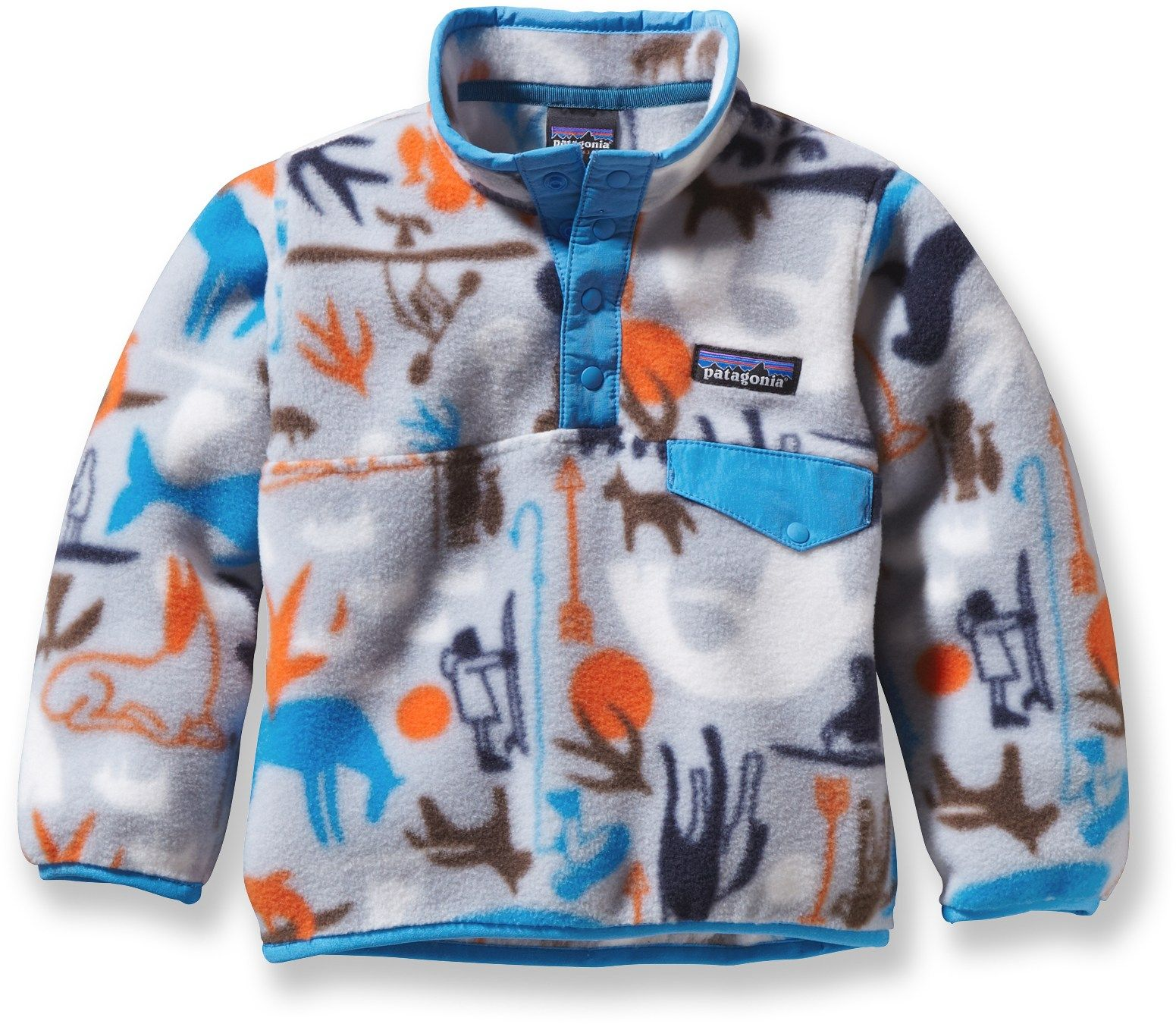 Patagonia Male Baby Synchilla Snap-T Fleece Pullover - Infant ...