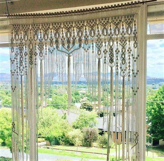 Macrame Wedding Backdrop Arbour Arch Ceremony Backdrop Boho #ceremonyideas