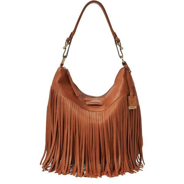 Frye Heidi Fringe Hobo Bag 3 165 Dkk Liked On Polyvore Featuring Bags