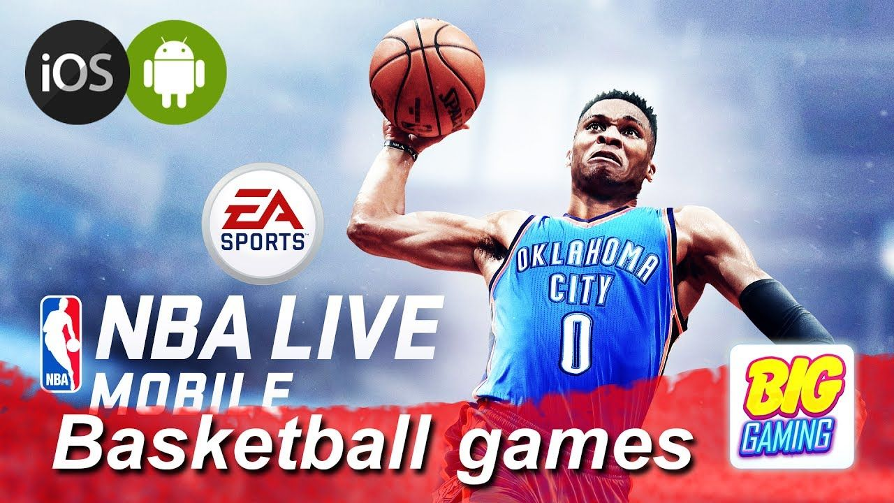 Nba Live Mobile Basketball Gameplay Android Ios Basketball Games F Nba Live Basketball Games Nba