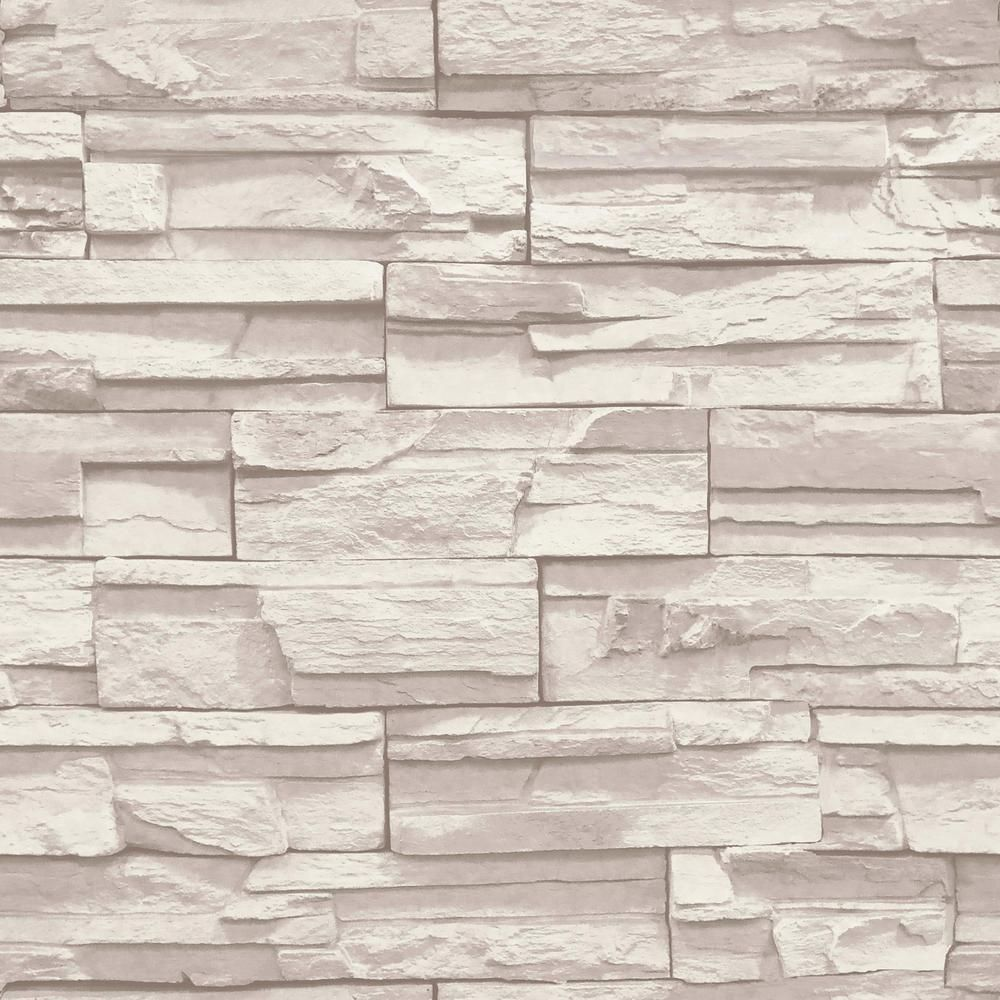 Home Depot Stone Wall york wallcoverings natural elements flat stone wallpaper - ss1021