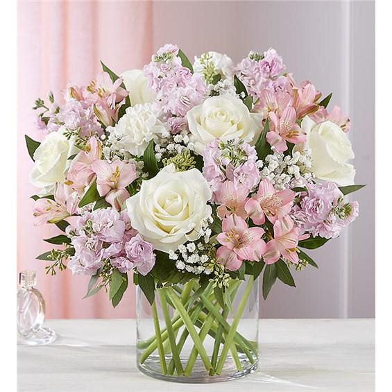 Spring Gift Ideas In 2020 Blush Bouquet Flower Arrangements Bouquet
