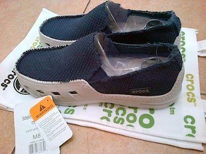 Jual Sepatu Crocs Tideline Canvas Man Di Lapak Closer Amolaxina