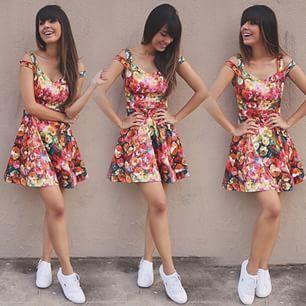 vestido maravilhoso  estilo meio romântica,descolada,simplesmente maravilhoso #perfeito #mara
