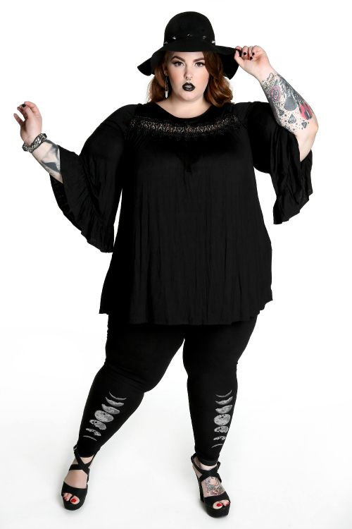witchy tunic up to 3XL pastel goth nu goth punk goth plus size