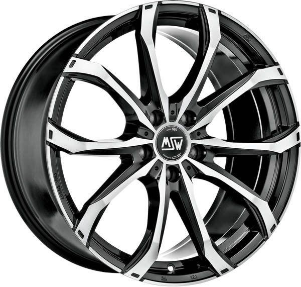 Alloy Wheel Msw 48 7 5x17 Et 42 Chevrolet Captiva 5x115 Black Full