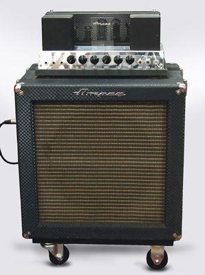Ampeg B 15n Tube Bass Amplifier 1965 In 2019 Guitar