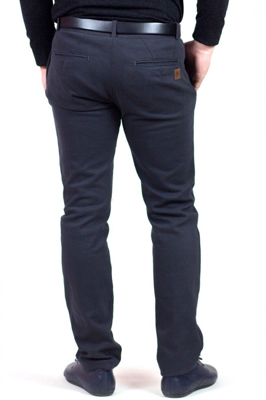 Класичні чоловічі  штани сірого кольору MAKSYMIV H-017-2. Модель пошита з 59dd386a2630d