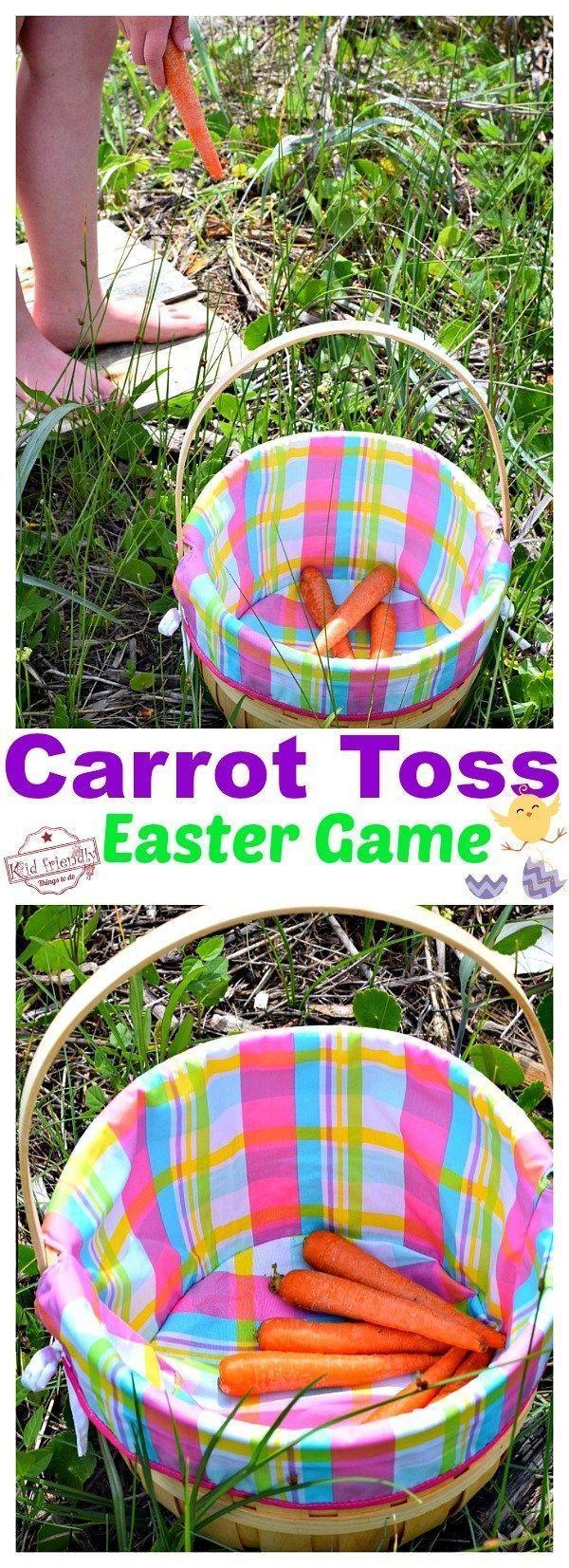 Photo of Carrot Toss – Ein lustiges und einfaches Osterspiel