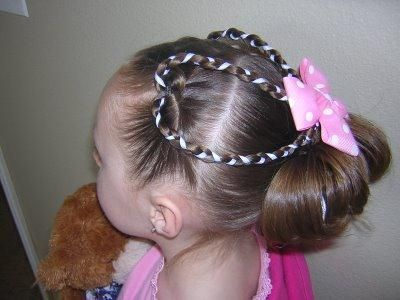 peinados con trenzas para nias custom