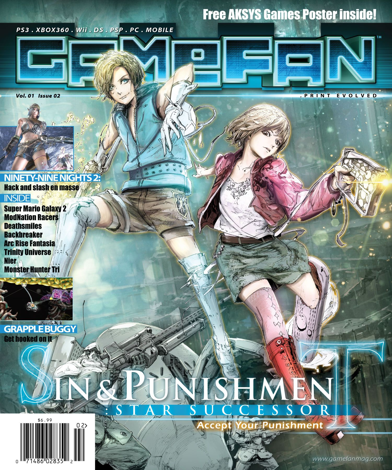 Gamefan Issue Two Cover by RobDuenas