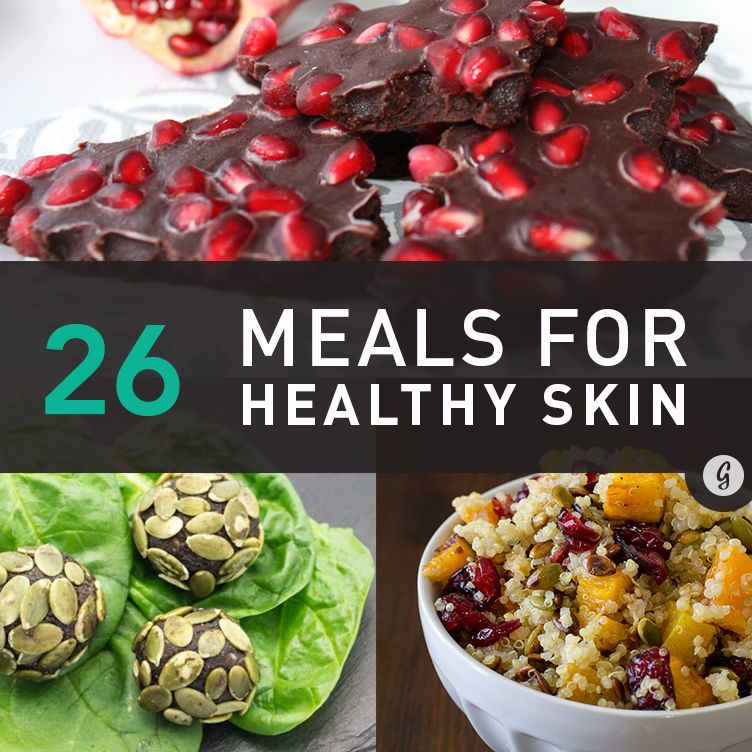 Eat Your Way to Clear, Healthy Skin With These 26 Meals #healthyskin