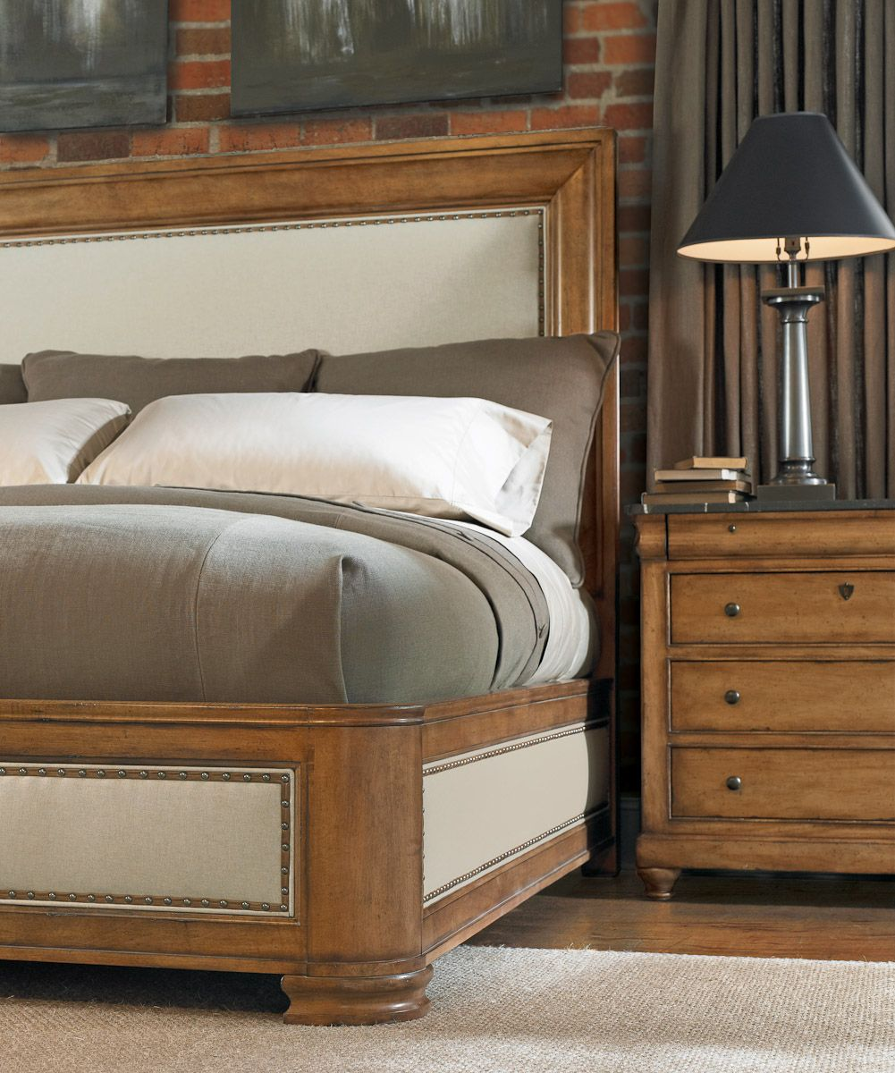 Bernhardt Bon Maison Bed bedroom Furniture, Bedroom