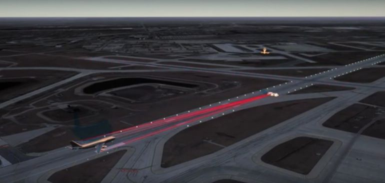 The ALTACAS system can detect vehicles on a runway