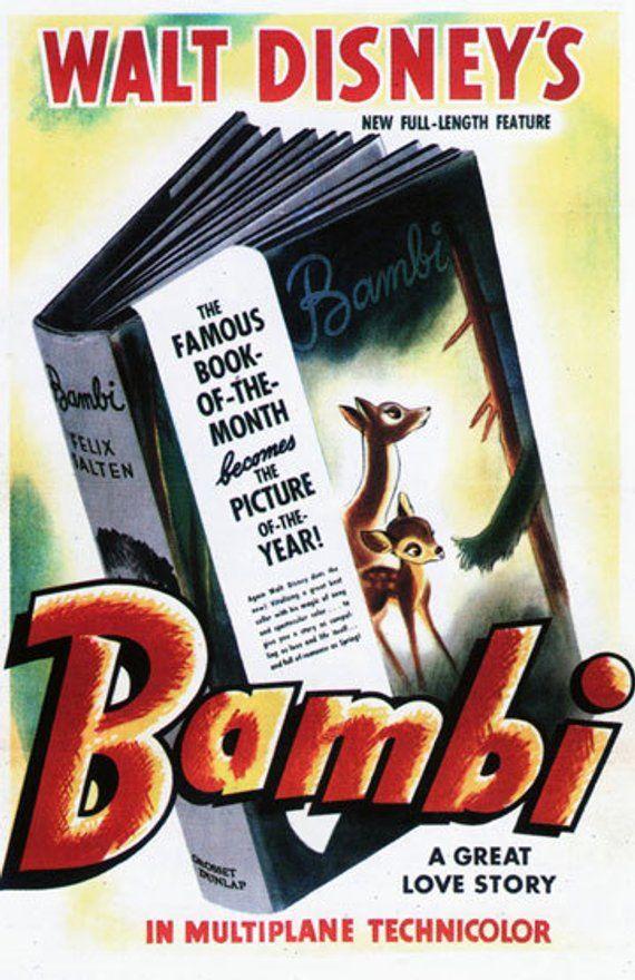 Bambi - Book Small Movie Poster | MOV205257